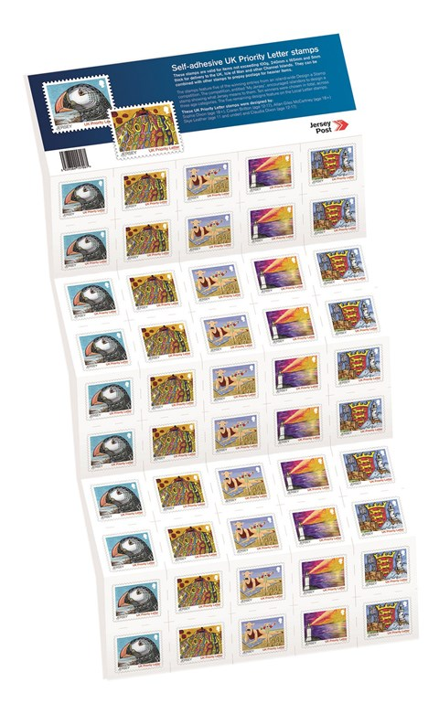 Uk Stamps Jersey Post